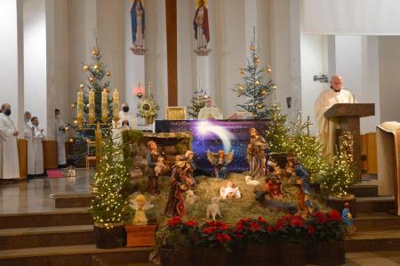 Uroczysta Eucharystia z okazji  100 -lecia powstania Zgromadzenia Sióstr Loreta