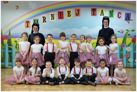 Udział naszych przedszkolaków w I Wojewódzkim Turnieju Tańca dla Przedszkoli