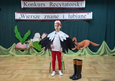 """Konkurs Recytatorski pt.: """"Wiesze znane i lubiane"""""""