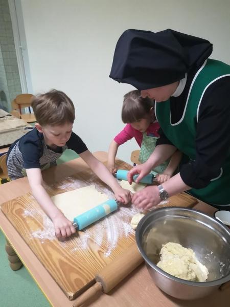 Zajęcia kulinarne - ciasteczka