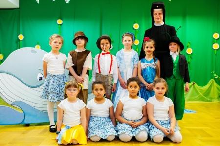 Pinokio w wykonaniu grupy 6 latków (11 czerwca 2021 r)