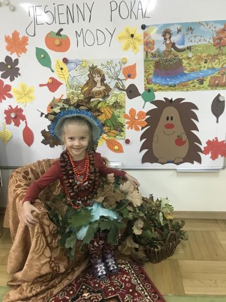 Pierwszy Dzień Jesieni w grupie 5 latków